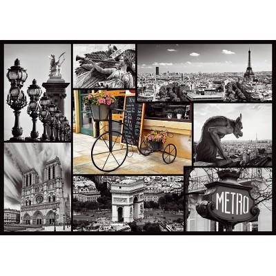 Puzzle Trefl-10279 Paris Collage