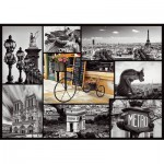 Puzzle  Trefl-10279 Paris Collage