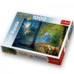 Puzzle  Trefl-10288 Geheimnisvoller Wald