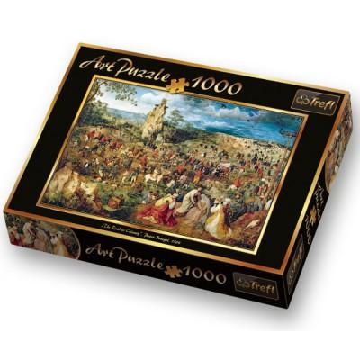 Puzzle Trefl-10292 Pieter Brueghel der Ältere: Die Kreuztragung Christi