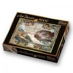 Puzzle  Trefl-10293 Michaelangelo: Die Erschaffung Adams