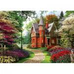Puzzle  Trefl-10355 Dominic Davison: Viktorianisches Haus