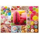 Puzzle  Trefl-10357 Süßigkeiten
