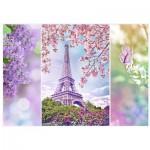 Puzzle  Trefl-10409 Frühling in Paris