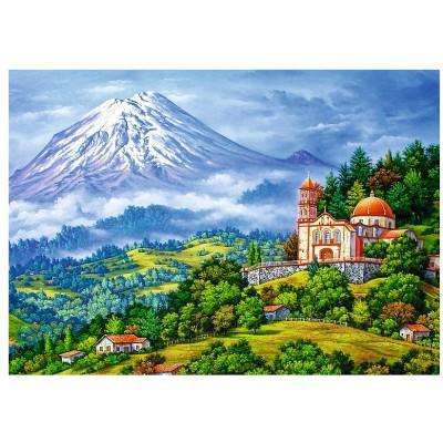Puzzle Trefl-10431 Vulkanlandschaft