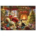Puzzle  Trefl-10432 Der Weihnachtsmann