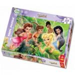 Puzzle  Trefl-13114 Fee Tinkerbell und Ihre Freundinnen