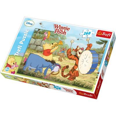 Puzzle Trefl-13143 Winnie macht Musik