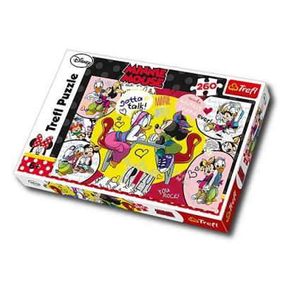 Puzzle Trefl-13159 Minni und Daisy, beste Freundinnen