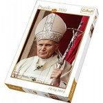 Puzzle  Trefl-13179 Papst Johannes Paul II