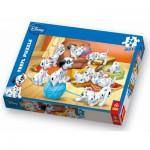 Puzzle  Trefl-14099 101 Dalmatiner: Wollknäuel