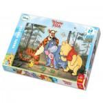 Trefl-14124 Puzzle 24 Teile Maxi - Winnie the Pooh und seine Freunde