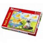 Trefl-14128 Maxipuzzle: Das hässliche Entlein