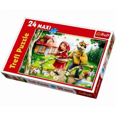 Trefl-14130 Maxipuzzle: Rotkäppchen