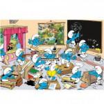 Puzzle  Trefl-14132 Große Teile - Die Schule der Schlümpfe