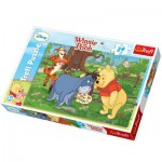 Trefl-14137 Puzzle 24 Teile Maxi - Winnie the Pooh