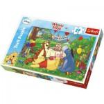 Puzzle  Trefl-14138 Große Teile - Winnies Geburtstag