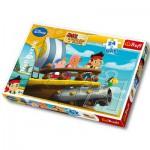 Trefl-14200 Maxipuzzle: Jake und die Piraten von Nimmerland