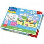 Puzzle  Trefl-14405 Große Teile recto / verso - Peppa Pig