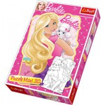 Puzzle  Trefl-14408 Große Teile recto / verso - Barbie