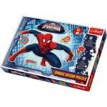 Puzzle  Trefl-14600 Spiderman Magic Decor