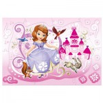 Trefl-14611 Extragroße Puzzleteile - Sofia the First