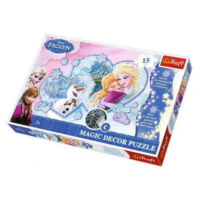 Puzzle Trefl-14615 Magic Decor Frozen