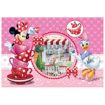 Trefl-14803 Extragroße Puzzleteile mit Pailletten - Minnie Mouse