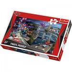 Puzzle  Trefl-15216 Cars 2: Was für ein Rennen !