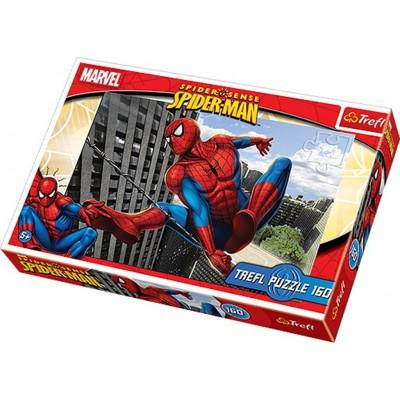 Puzzle Trefl-15221 Spiderman: Zum Eingreifen bereit