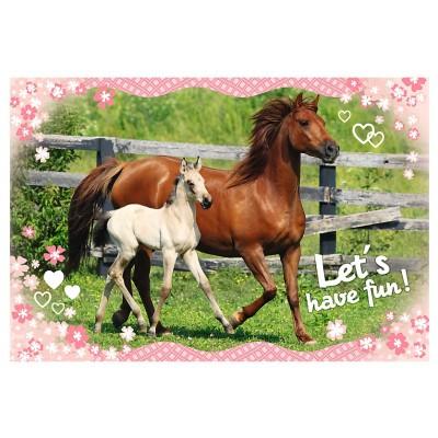 Puzzle Trefl-15331 Pferde