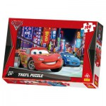Puzzle  Trefl-16161 Cars 2: Tokio bei Nacht