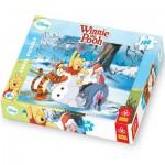 Puzzle  Trefl-16163 Winnie the Pooh liebt den Winter