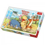 Puzzle  Trefl-16184 Winnie und seine Freunde gehen Spazieren