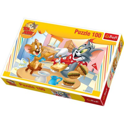 Puzzle Trefl-16196 Tom und Jerry: Fastfood