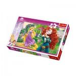 Puzzle  Trefl-16199 Prinzessinnen