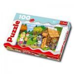Puzzle  Trefl-16200 Hänsel und Gretel