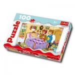 Puzzle  Trefl-16202 Goldlöckchen und die drei Bären