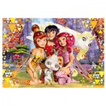 Puzzle  Trefl-16248 Mia and Me