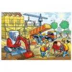 Puzzle  Trefl-16263 Auf der Baustelle