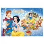 Trefl-16500 2 Lumi Color Puzzles - Disney Princesses: Schneewittchen und Arielle