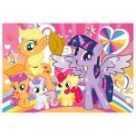 Trefl-16503 2 Puzzles Lumi Color - My Little Pony