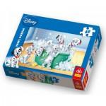 Puzzle  Trefl-17154 101 Dalmatiner: Im Bad