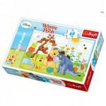 Puzzle  Trefl-17209 Winnie und Freunde