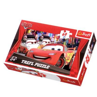 Puzzle Trefl-17211 Cars 2: Willkommen in Tokio