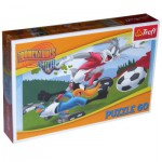 Puzzle  Trefl-17222 Bugs Bunny und Daffy Duck - Match