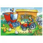 Puzzle  Trefl-17269 Auf dem Bauernhof
