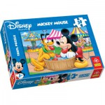 Puzzle  Trefl-18125 Micky und seine Freunde: Jahrmarkt