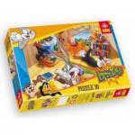 Puzzle  Trefl-18126 Bugs Bunny: Der Bücherwurm