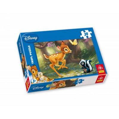 Puzzle Trefl-18132 Bambi: Im Wald